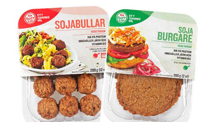 vegetariska köttbullar ica