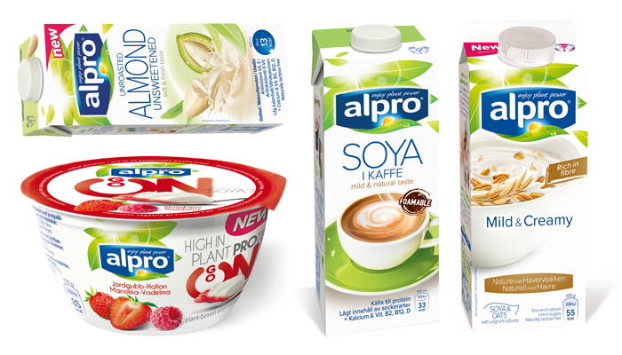 alpro mandelmjölk osötad
