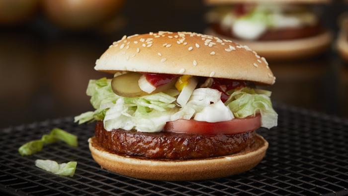 mcdonalds vegetarisk meny