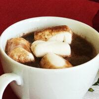 Varm choklad med kokos