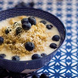 Quinoagröt med vanilj