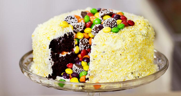 fluffig äggfri tårtbotten