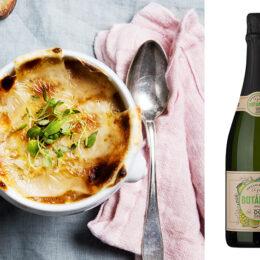 Fransk löksoppa – Soupe a l'oignon (vegetarisk)