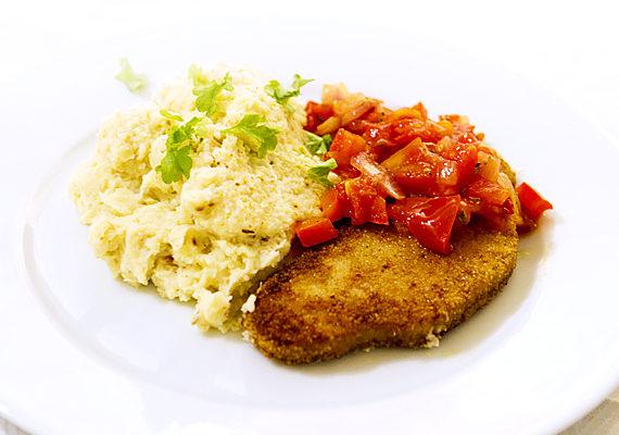 vegetarisk schnitzel recept