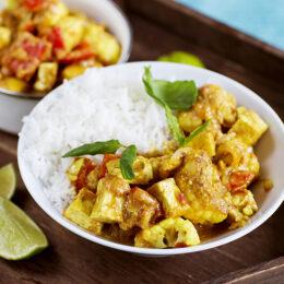 Vegetarisk Tofu tikka masala
