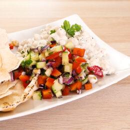 Msabaha – Krämiga kikärtor med yoghurt och tahini