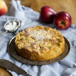 Fransk äppelkaka med kardemumma