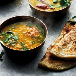 Shantis berömda vegetariska daalsoppa