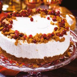 Fryst pepparkakscheesecake