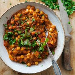 Harira – vegetarisk marockansk soppa med saffran