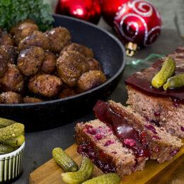 Två vegetariska favoriter till julbordet: Paté och klassiska julbullar