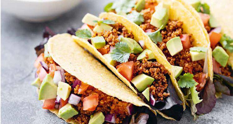 vegetarisk taco