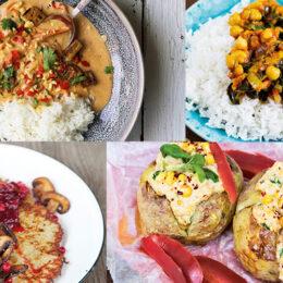 Billiga vegetariska veckan! (7 recept)