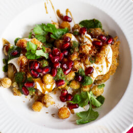 Vegetarisk indisk street food: Aloo tikki
