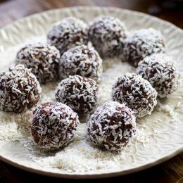 Våra godaste chokladbollar (veganska)