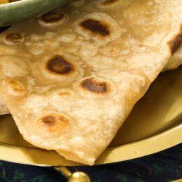 Roti – indiskt tunnbröd