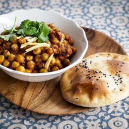 Punjabi chole – kryddig vegetarisk indisk kikärtsgryta