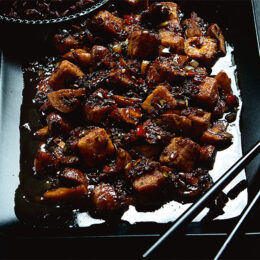 Vegetarisk svartpeppartofu