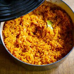 Jollof rice – västafrikanskt ris