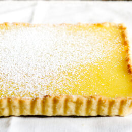 Fransk citronpaj – Tarte au citron (vegan)