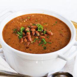 Vegetarisk drunken beans