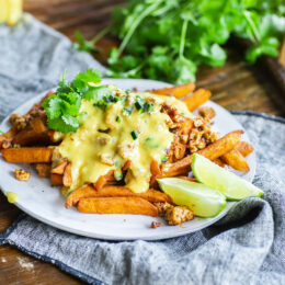 Jalapeño cheese fries