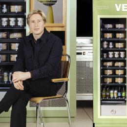 VEAT – Sveriges första matautomat med växtbaserad mat