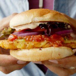 Jalapeño cheese burger